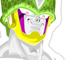 Dragonball Z Cell Mr Perfect Sticker