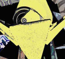 The Golden Crane Sticker
