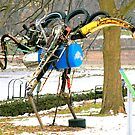 What is this recycled art form.....?? Was guessed by THOMAS PETTIT... by Larry Llewellyn