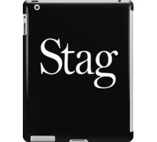 STAG, Stag night, Stag Party, Bachelor, Wedding, Wed, Marry, Married iPad Case/Skin