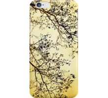 Black and Gold Tree Art iPhone Case/Skin