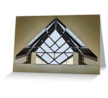 Directional Symmetry Greeting Card