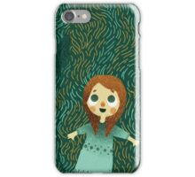Laying in the grass iPhone Case/Skin