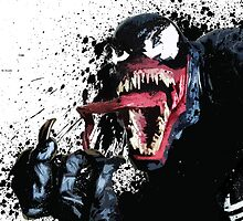 """Venom"" Splatter Art by KYCollectibles"