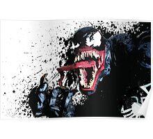 """""""Venom"""" Splatter Art Poster"""