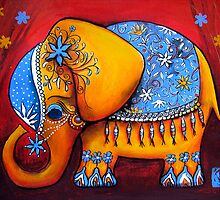 The Littlest Elephant by © Karin (Cassidy) Taylor