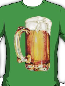 St. Patricks Day - Beer Pattern T-Shirt