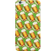 St. Patricks Day - Beer Pattern iPhone Case/Skin