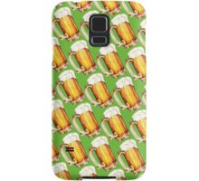 St. Patricks Day - Beer Pattern Samsung Galaxy Case/Skin