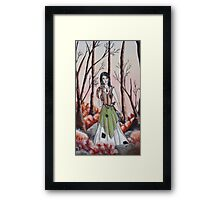 Hedge Witch Framed Print