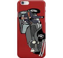 Gangster car iPhone Case/Skin