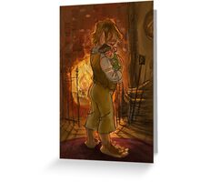 Bilbo and Baby Frodo Baggins Greeting Card