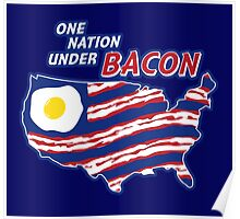 One Nation Under BACON Poster