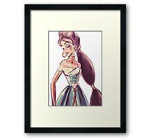 Jasmine- aladin Framed Print
