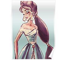 Jasmine- aladin Poster