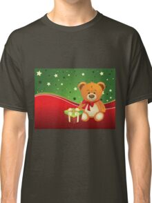 Teddy Bear with Gift Box 3 Classic T-Shirt