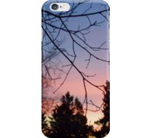 Sunset After Snow iPhone Case/Skin