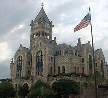 Victoria Co Courthouse, Victoria, TX. 1892 by John Thomason