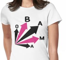 obama : all signs point to... Womens Fitted T-Shirt