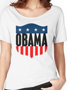 obama : stars & stripes Women's Relaxed Fit T-Shirt