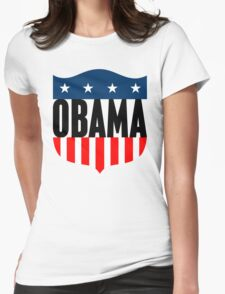obama : stars & stripes Womens Fitted T-Shirt
