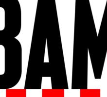 obama : stars & stripes Sticker