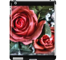 Bouquet with red roses 10 iPad Case/Skin