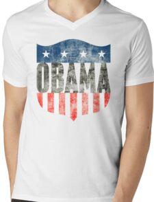 obama : stars & stripes Mens V-Neck T-Shirt