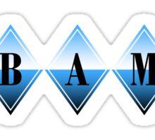obama : diamonds Sticker