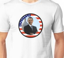 obama : us flag Unisex T-Shirt