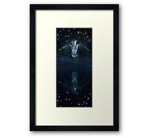 The Mirror World Framed Print