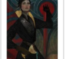Dragon Age Inquisition Cassandra Tarot card 2 Sticker