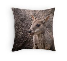 Thank You...I'm here all week... Throw Pillow