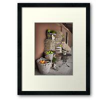 Produce . . .  Framed Print