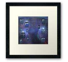 Tardis For Leggings & Pencil Skirts Framed Print