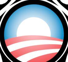 barack obama : tribal Sticker