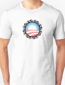 barack obama : tribal Unisex T-Shirt