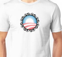 barack obama : tribal Unisex T-Shirt