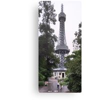 Petrín lookout tower Canvas Print
