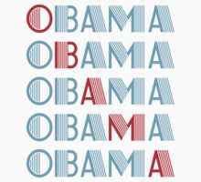 obama : text stacks by asyrum