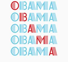 obama : text stacks Unisex T-Shirt