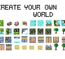 Create your own pixel art world! by Elanor34
