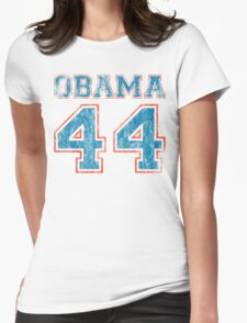 team obama Womens Fitted T-Shirt