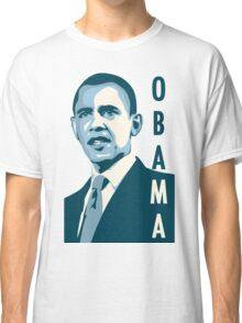 obama : verticle text Classic T-Shirt