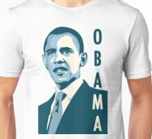 obama : verticle text Unisex T-Shirt