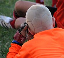Soccer Ball Head by Carole Brunet