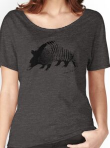 Armadillo on a Pillow Women's Relaxed Fit T-Shirt