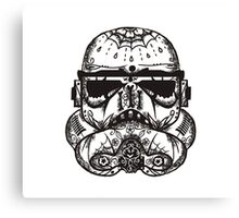 dia de los storm trooper Canvas Print