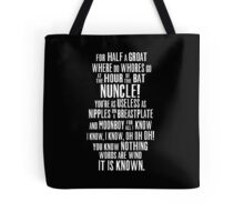 ASOIAF Phrases Tote Bag