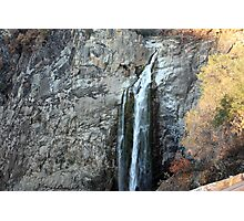 Top Of Feather Falls Photographic Print